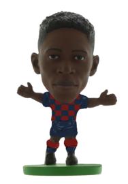 Soccerstarz  voetbalpoppetje OUSMANE DEMBELE thuis shirt 2020