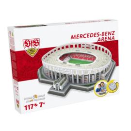 3D stadionpuzzel MERCEDES-BENZ ARENA - VFB Stuttgart