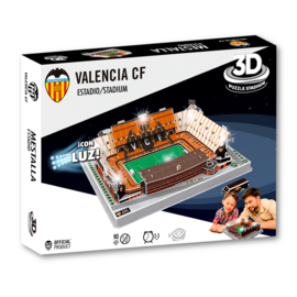 3D stadionpuzzel ESTADIO MESTALLA  LED- Valencia