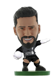 Soccerstarz voetbalpoppetje ALISSON thuis shirt 2021