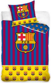 Dekbedovertrek BARCELONA 1-persoons stripes gold