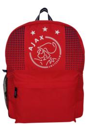 Ajax-rugzak logo rood - groot