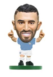 Soccerstarz voetbalpoppetje RIYAD MAHREZ classic thuis shirt