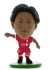 Soccerstarz voetbalpoppetje TAKUMI MINAMINO thuis shirt 2021