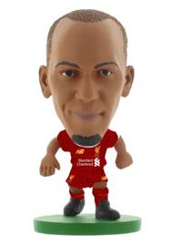 Soccerstarz voetbalpoppetje FABINHO thuis shirt 2020