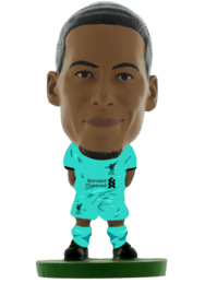 Soccerstarz voetbalpoppetje VIRGIL VAN DIJK uit shirt 2021