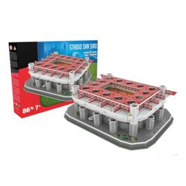 Nanostad 3D stadion SAN SIRO - Milaan