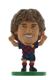 Soccerstarz voetbalpoppetje ANTOINE GRIEZMANN thuis shirt