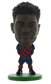 Soccerstarz voetbalpoppetje SAMUEL UMTITI thuis shirt 2020