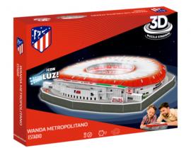 3D stadionpuzzel WANDA METROPOLITANO LED - Atletico Madrid