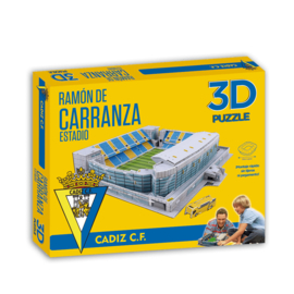 3D stadionpuzzel ESTADIO RAMON DE CARRANZA - Cadiz CF
