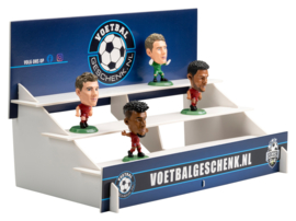 BAYERN MÜNCHEN 4-PACK voetbalpoppetjes + GRATIS tribune