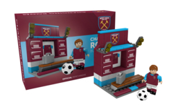 West Ham United KLEEDKAMER bouwset