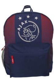 Ajax-rugzak logo blauw - groot