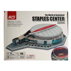 3D stadionpuzzel STAPLES CENTER - Los Angeles