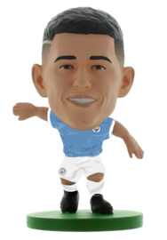 Soccerstarz  voetbalpoppetje PHIL FODEN classic thuis shirt
