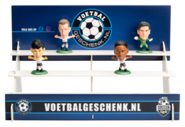 TOTTENHAM HOTSPUR 4-PACK voetbalpoppetjes + GRATIS tribune