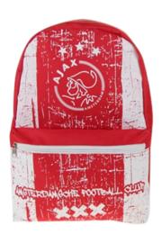 Ajax-rugzak rood grunge - groot