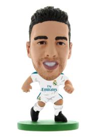 Soccerstarz voetbalpoppetje DANIEL CARVAJAL thuis shirt 2018