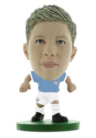 Soccerstarz voetbalpoppetje KEVIN DE BRUYNE classic thuis shirt