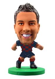 Soccerstarz  voetbalpoppetje JORDI ALBA thuis shirt 2020