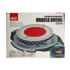 3D stadionpuzzel ORACLE ARENA - Oakland