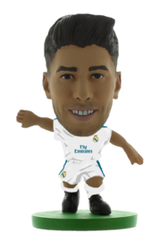 Soccerstarz voetbalpoppetje MARCO ASENSIO thuis shirt 2018
