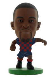 Soccerstarz  voetbalpoppetje NELSON SEMEDO thuis shirt 2020