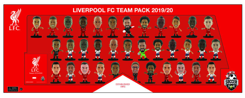 Soccerstarz 35 team pack LIVERPOOL thuis en uit shirt 2020