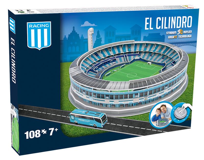 Nanostad 3D stadion EL CILINDRO - Racing Club