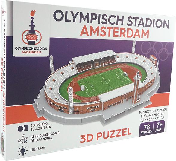 3D stadionpuzzel OLYMPISCH STADION - Amsterdam