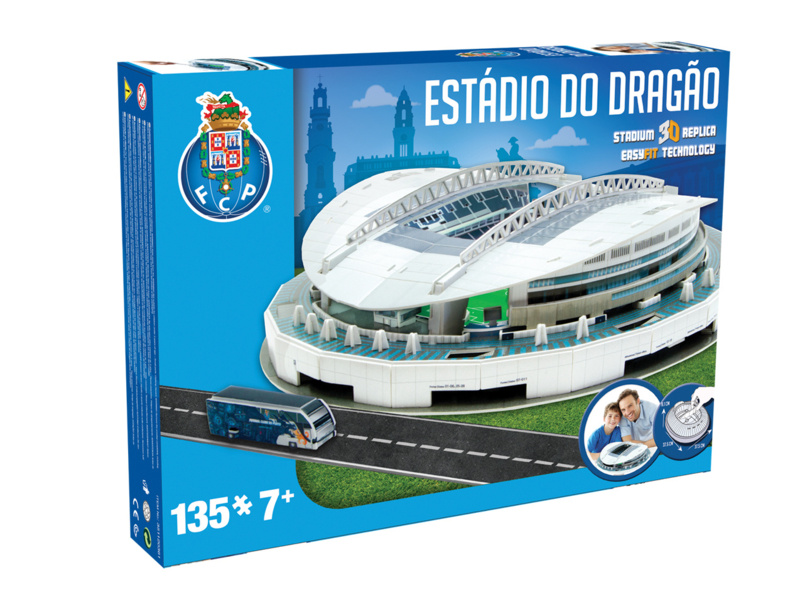 Nanostad 3D stadion ESTADIO DO DRAGAO - Porto