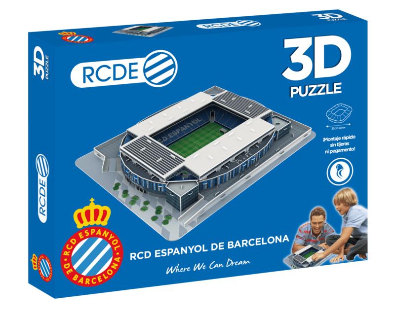 3D stadionpuzzel RCDE STADIUM - RCD Espanyol