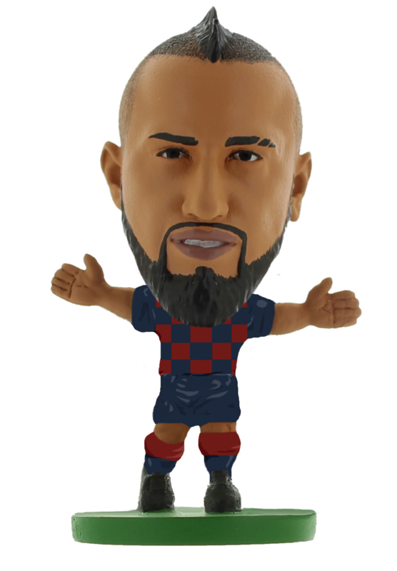 Soccerstarz voetbalpoppetje ARTURO VIDAL thuis shirt 2020