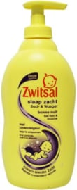 Zwitsal Bad & wasgel lavendel 400ml
