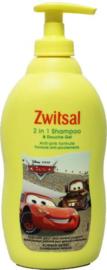 Zwitsal 2 in 1 shampoo&douchegel boy 400ml