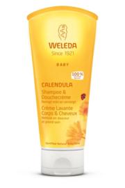Weleda Calendula baby haar en body shampoo 200ml