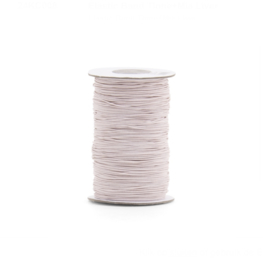 Elastisch koord  smal - Nude pink