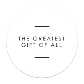Sticker - Greatest gift