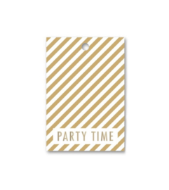 Label - party  time [geel]