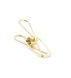 Fish clip - goud