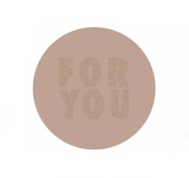 Stickers - For you Roze