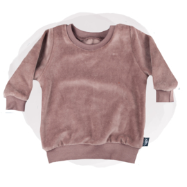 SWEATER  - VELVET MAUVE