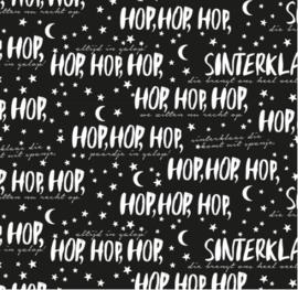 HOP HOP HOP - SINTERKLAAS INPAKPAPIER - ROL 2 METER