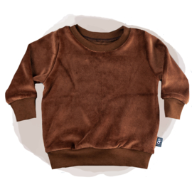 SWEATER  - VELVET CHOCOLATE
