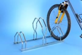 B129V3 Fietsrek voor 3 fietsen, hoog-laag