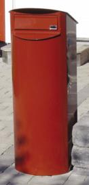 BB311 Biggi Brievenbus Rondo, rood