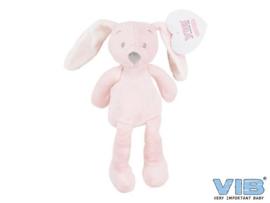 Pluche Konijn Groot 35cm 'Very Important Rabbit' Roze