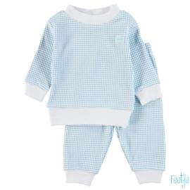 Feetje Wafel Pyjama Azur