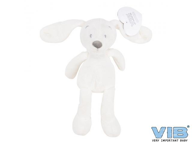 Pluche Konijn Groot 35cm 'Very Important Rabbit' Wit